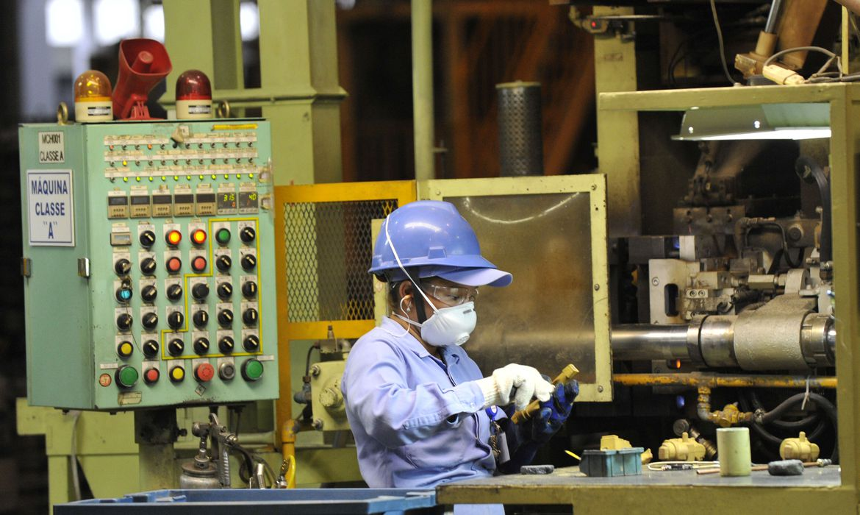 Em recuperação, faturamento da indústria cresce 11,4% em maio