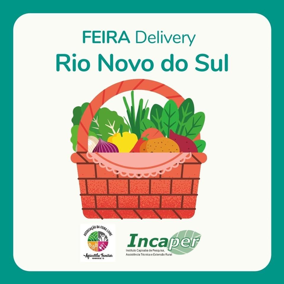 Agricultores de Rio Novo do Sul entregam alimentos em domicílio