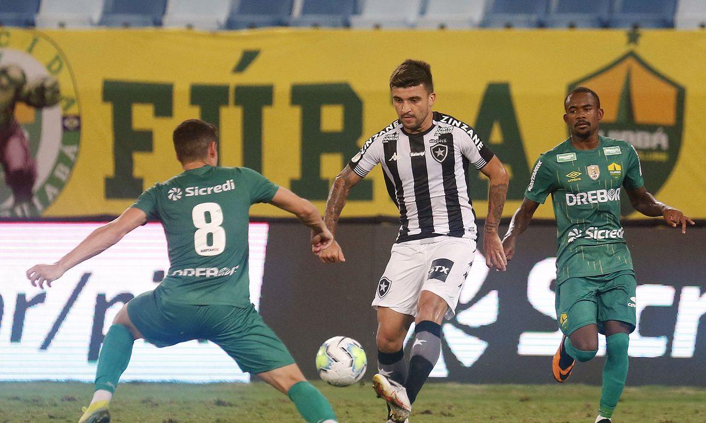 Cuiabá empata com o Botafogo e está nas quartas da Copa do Brasil