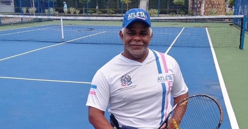 Campeão mundial de tênis em cadeira de rodas disputa campeonato nacional em Brasília