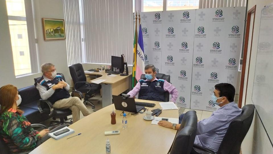 Sesport discute protocolos sanitários para retorno gradual de atividades