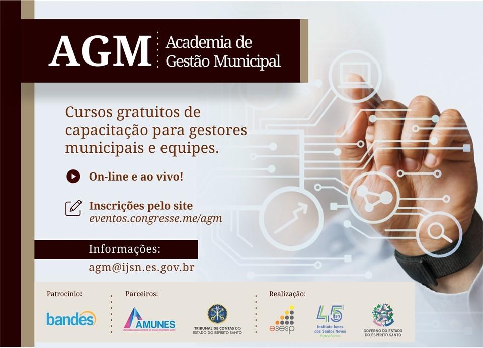 Academia de Gestão Municipal: Governo abre inscrições para capacitação gratuita de prefeitos e equipes técnicas