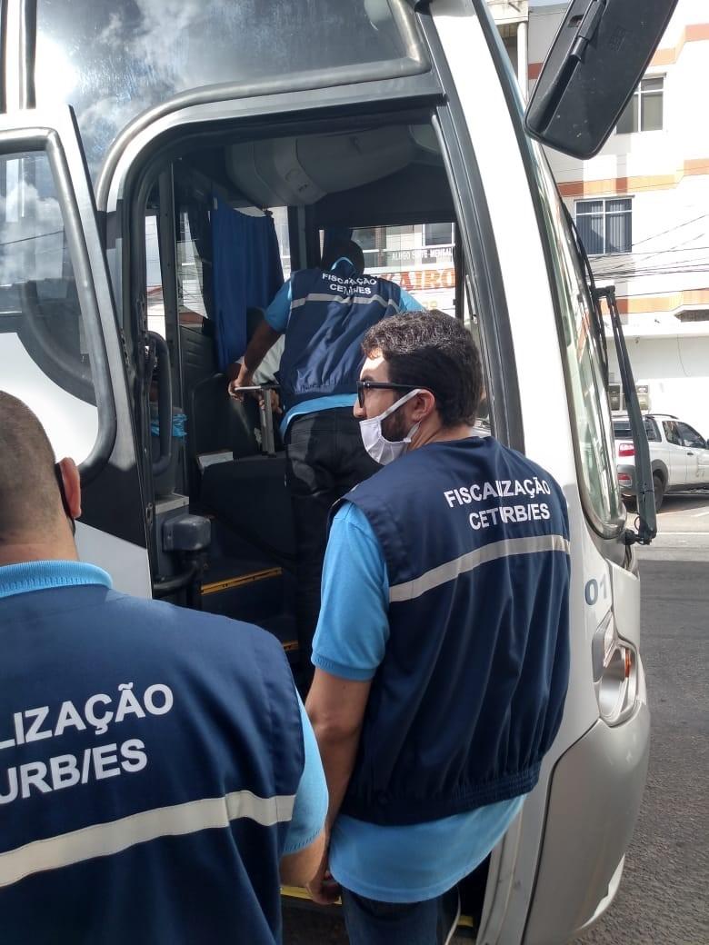 Ceturb-ES faz operação no norte do Estado para combater transporte clandestino