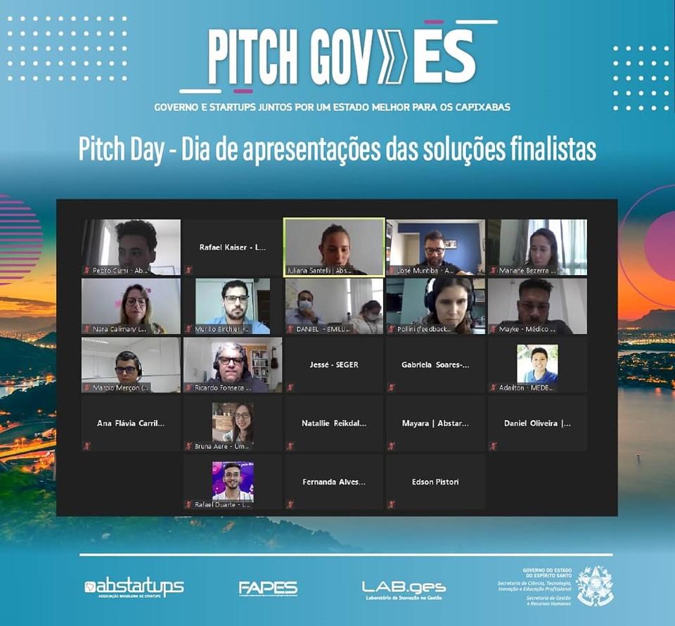 Governo inicia a escolha das soluções propostas por startups que receberão investimentos do programa Pitch Gov.ES
