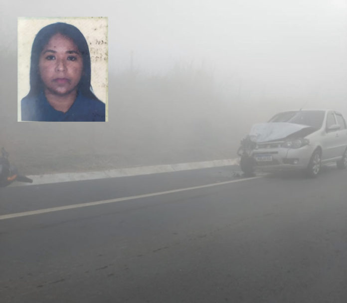Mulher morre em acidente na manhã desta terça-feira (13) em Nova Venécia