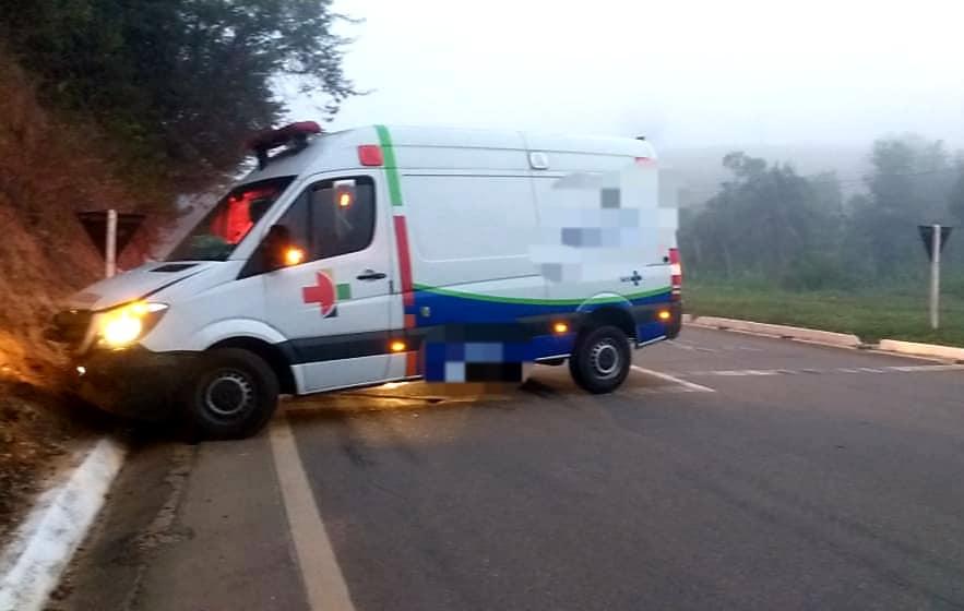 Acidente no trevo de São Domingos do Norte