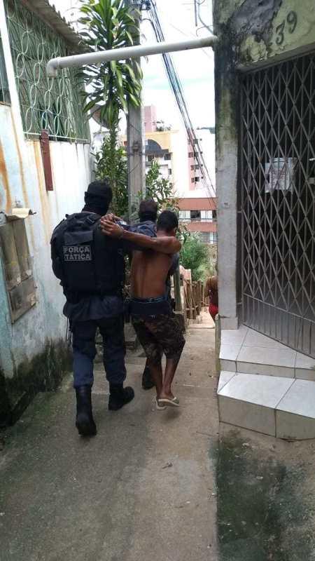 Bandido resgatado por quadrilha em delegacia na Bahia é preso em Colatina