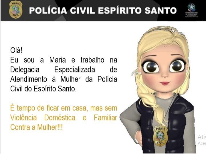 Polícia Civil orienta vítimas de violência doméstica para registro de boletim de ocorrência on-line