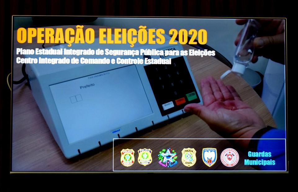 Sesp divulga esquema de segurança para eleições municipais deste ano