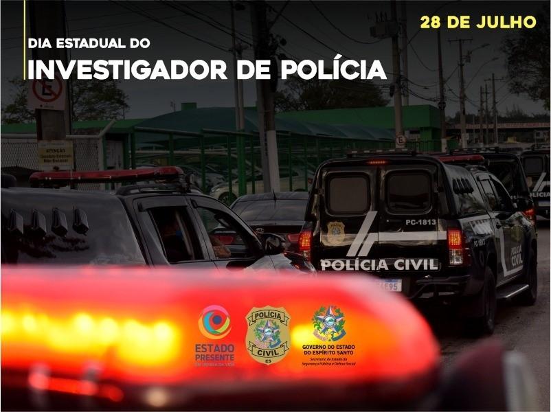 PCES celebra o Dia Estadual do Investigador de Polícia