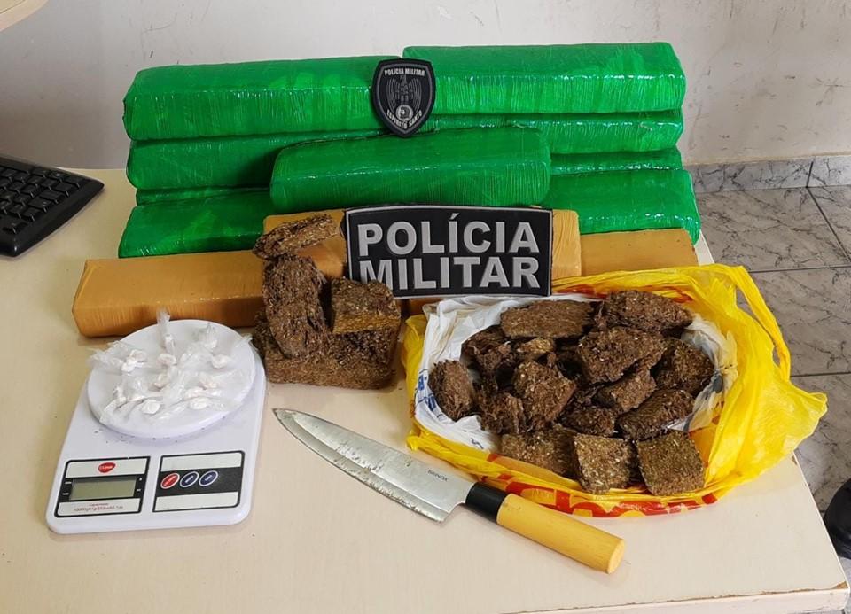 Polícia Militar apreende mais 11 quilos de maconha em São Mateus
