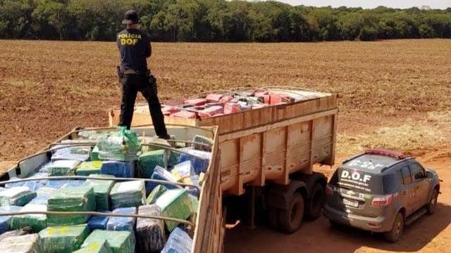 Polícia faz maior apreensão de droga da história do Brasil: 33 toneladas