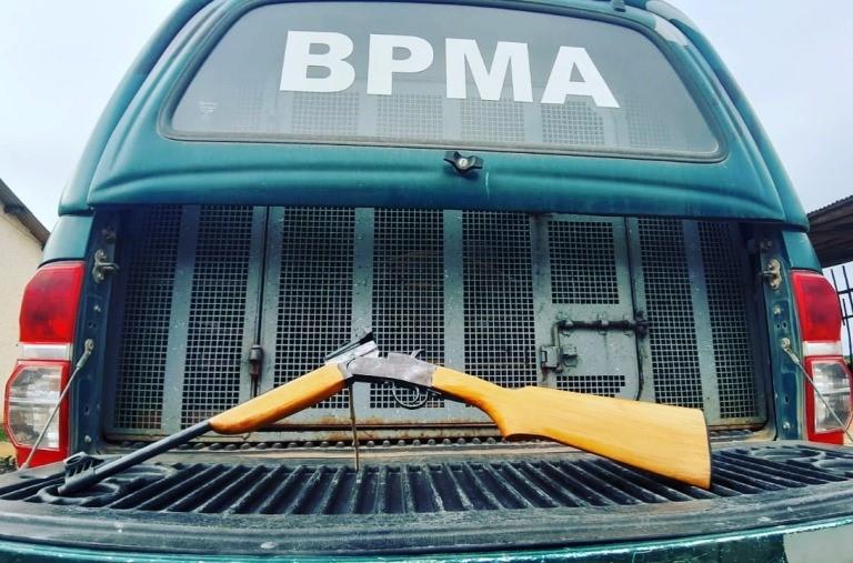 BPMA apreende armas e detém assaltantes em Nova Venécia e São Mateus