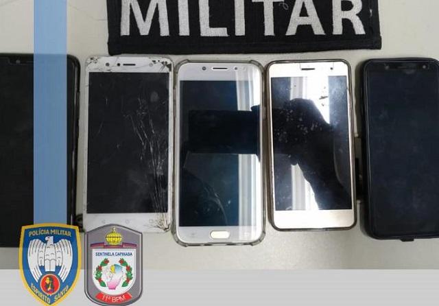Suspeito de furtar celulares é preso em Barra de São Francisco