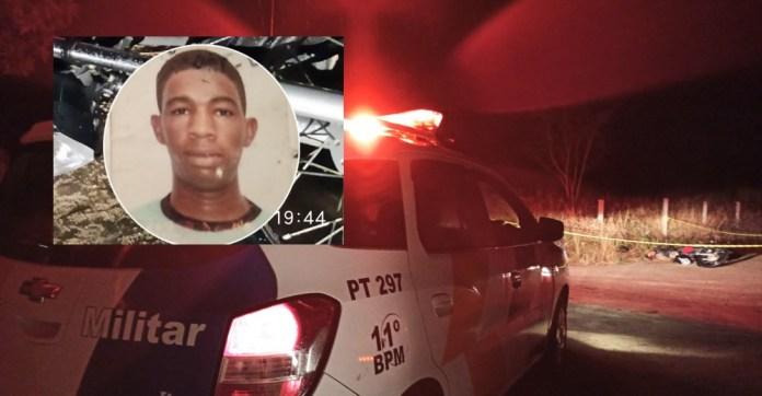 """Rapaz conhecido como """"Sarnei"""" é encontrado morto a tiros a beira de estrada em Águia Branca"""