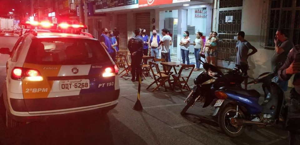 Polícia Militar reforça operações para evitar aglomerações em São Gabriel da Palha