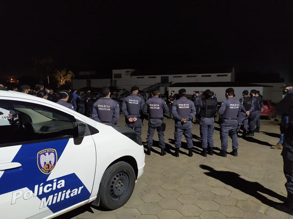 PM e PC realizam operação integrada em São Gabriel e Vila Valério