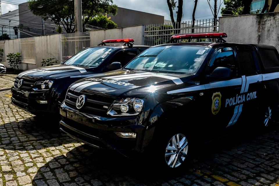 Governo do Estado entrega 58 novas viaturas à Polícia Civil