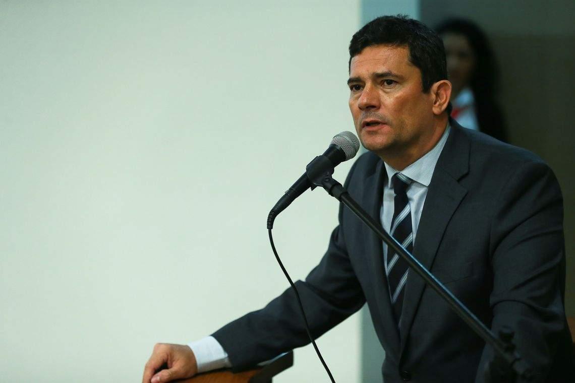 Moro pode deixar governo se Presidente mexer no comando da Federal