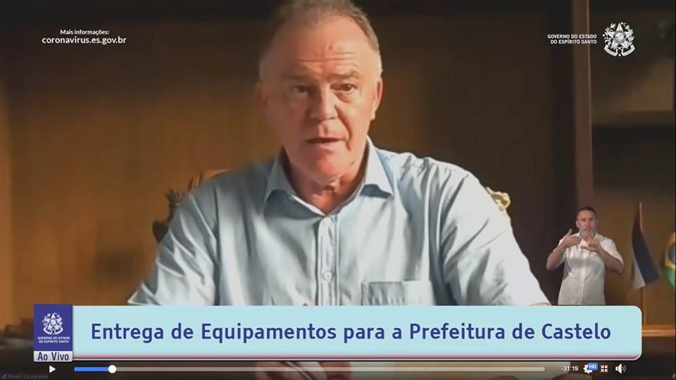 Governo do Estado entrega equipamentos agrícolas para município de Castelo