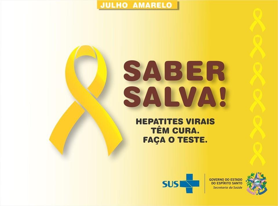 Julho Amarelo: Sesa inicia campanha de conscientização sobre hepatites virais