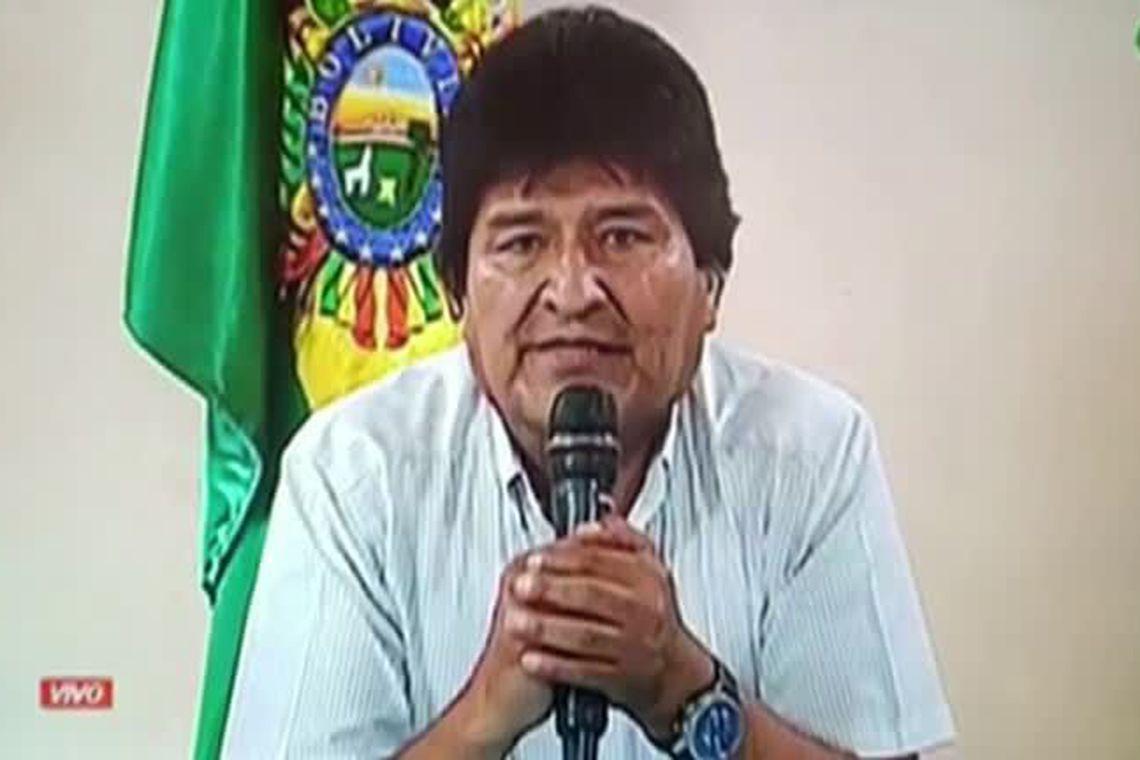 Morales pede intercessão da ONU e do papa para pacificar a Bolívia