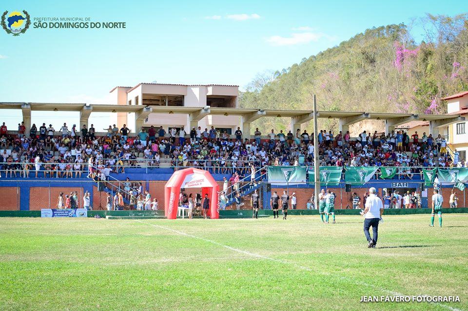 CAMPEONATO MUNICIPAL DE VETERANOS DE SÃO DOMINGOS DO NORTE -Picadão eRancho Fundo jogam a final amanhã