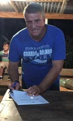 Pedro Pão assina ordem de serviço para construção de escola