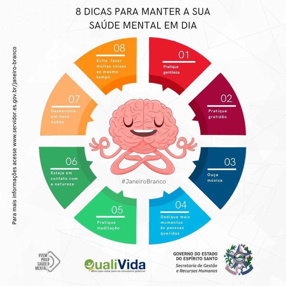 Campanha '#JaneiroBranco' incentiva cuidados com saúde mental e bem-estar