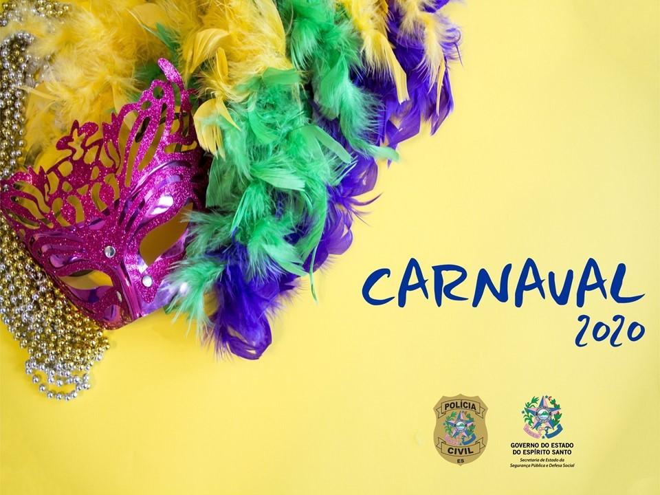 Confira os horários de atendimento da Polícia Civil durante o feriado de Carnaval
