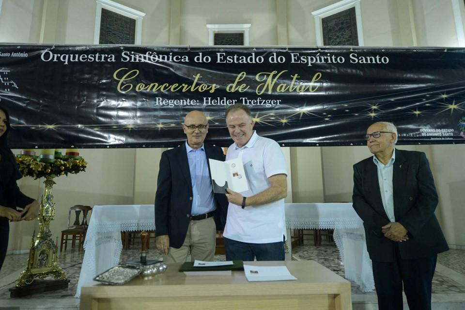 Governador participa do lançamento de Selo em homenagem ao Santuário-Basílica de Santo Antônio
