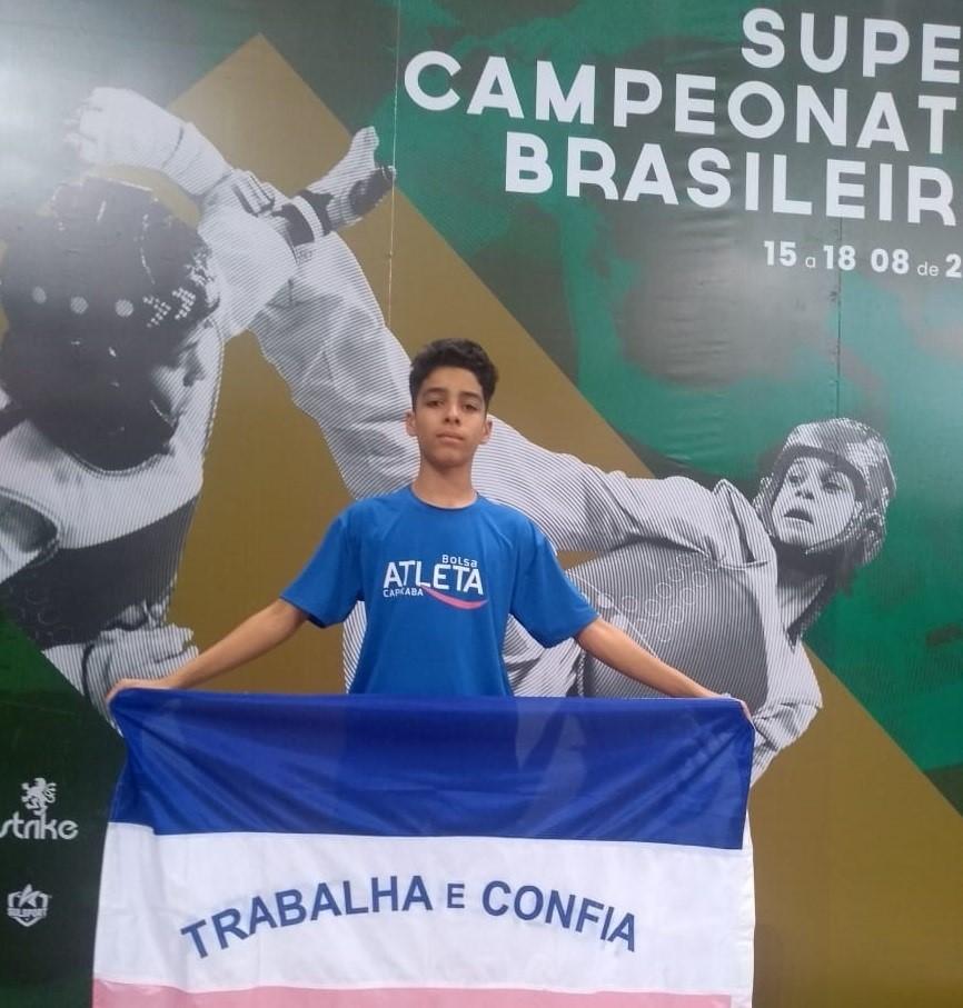 Lutador capixaba disputa vaga na Seleção Brasileira de Taekwondo