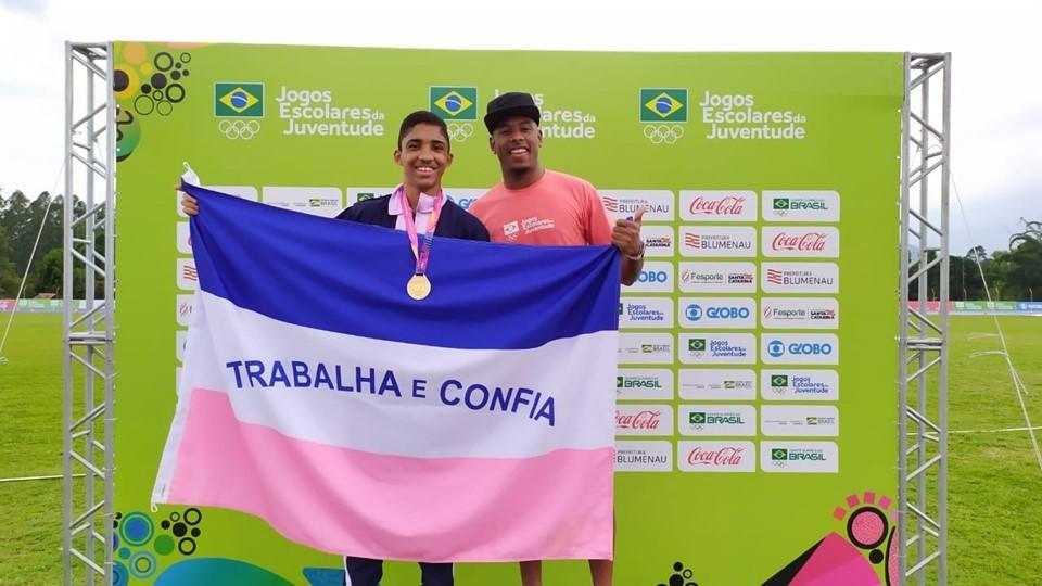 Capixabas conquistam três medalhas no atletismo nos Jogos Escolares da Juventude