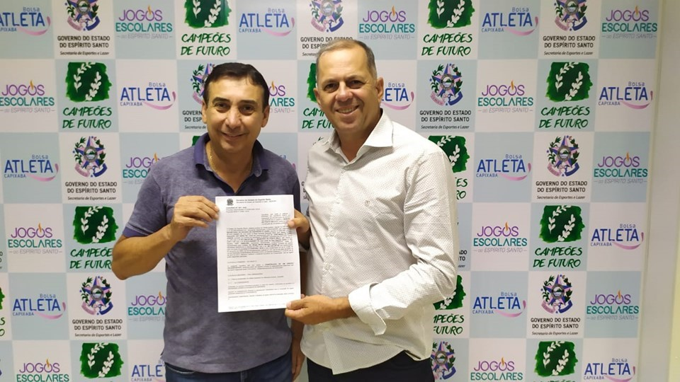 Sesport assina convênio para construção de ginásio poliesportivo em Ponto Belo