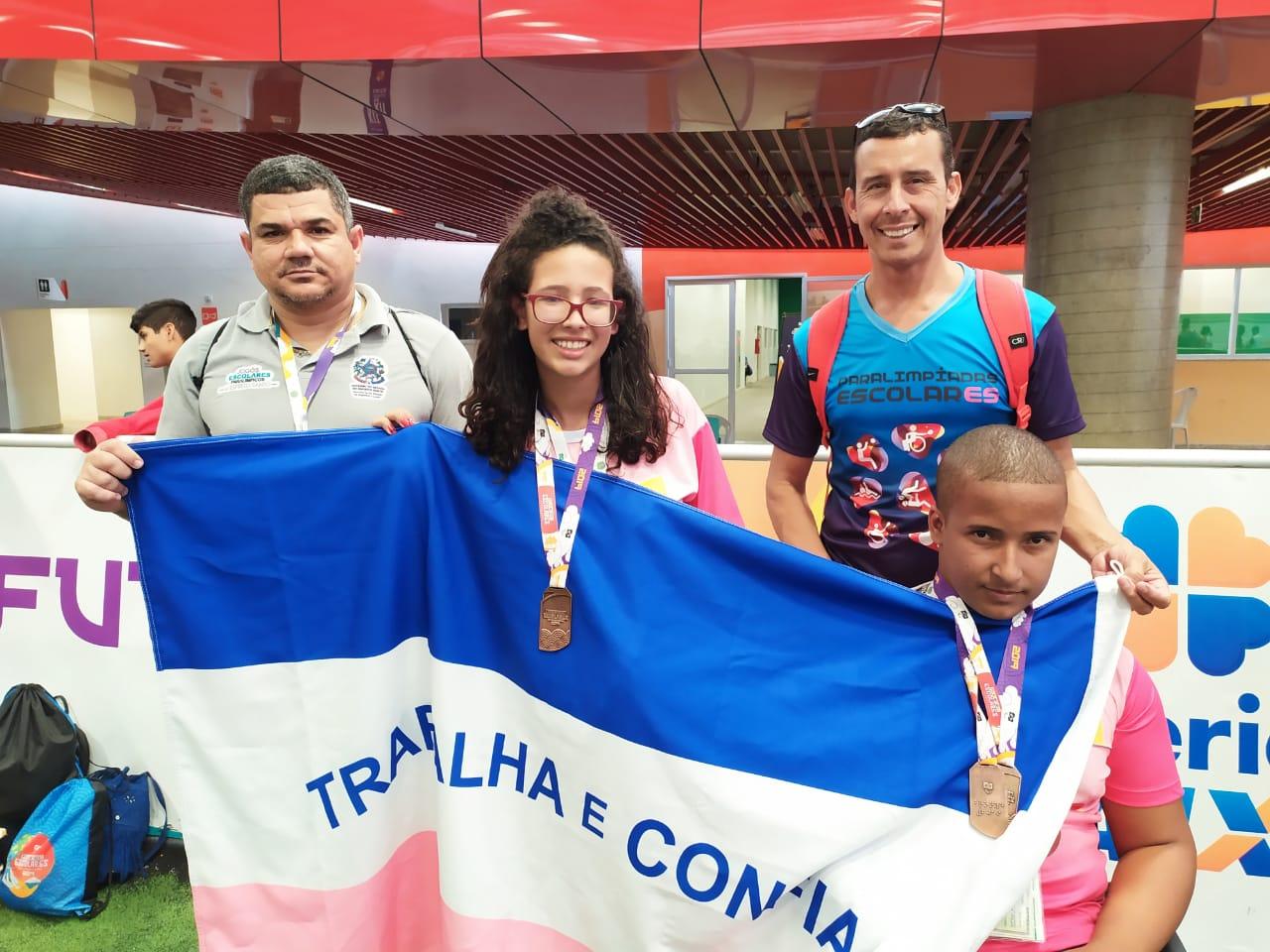 Espírito Santo fecha participação nas Paralimpíadas Escolares com 68 medalhas