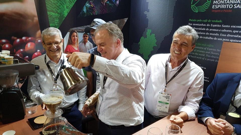 Casagrande participa da Semana Internacional do Café, em Minas Gerais