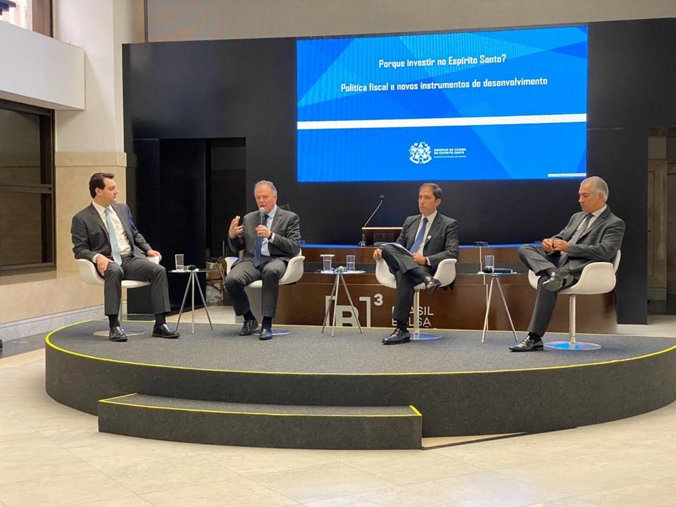 Governador apresenta projetos de infraestrutura do Estado em evento em SP