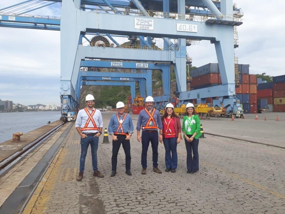 Equipe da Sedes visita Terminal Portuário Vila Velha e destaca grupo de trabalho