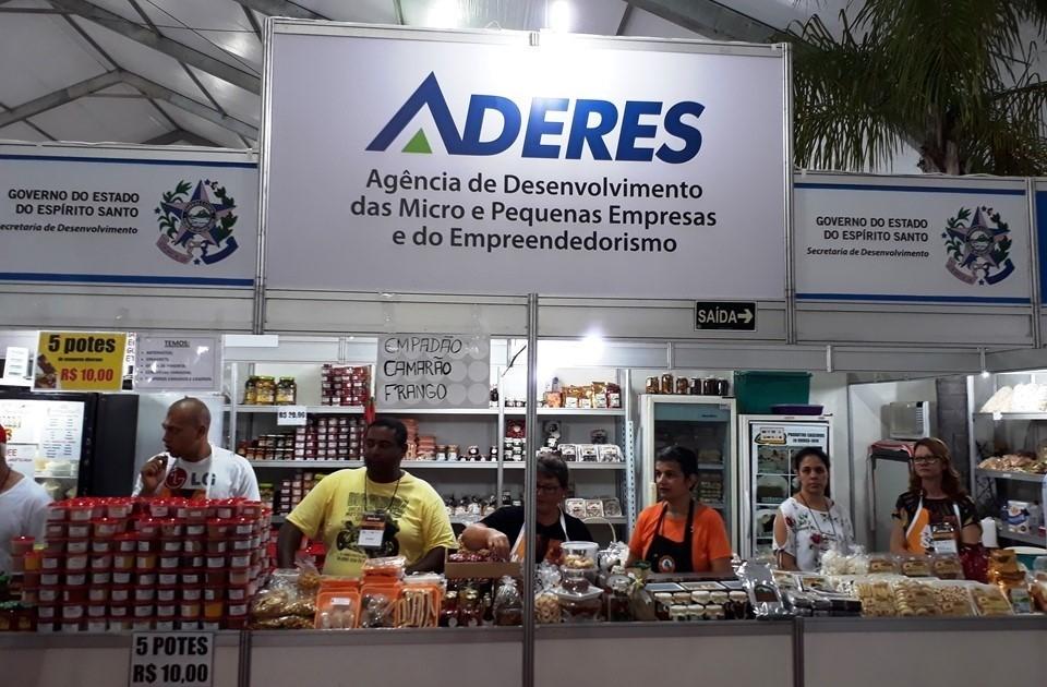 Com apoio da Aderes, agroindústria participa pela 1ª vez da feira de Guarapari