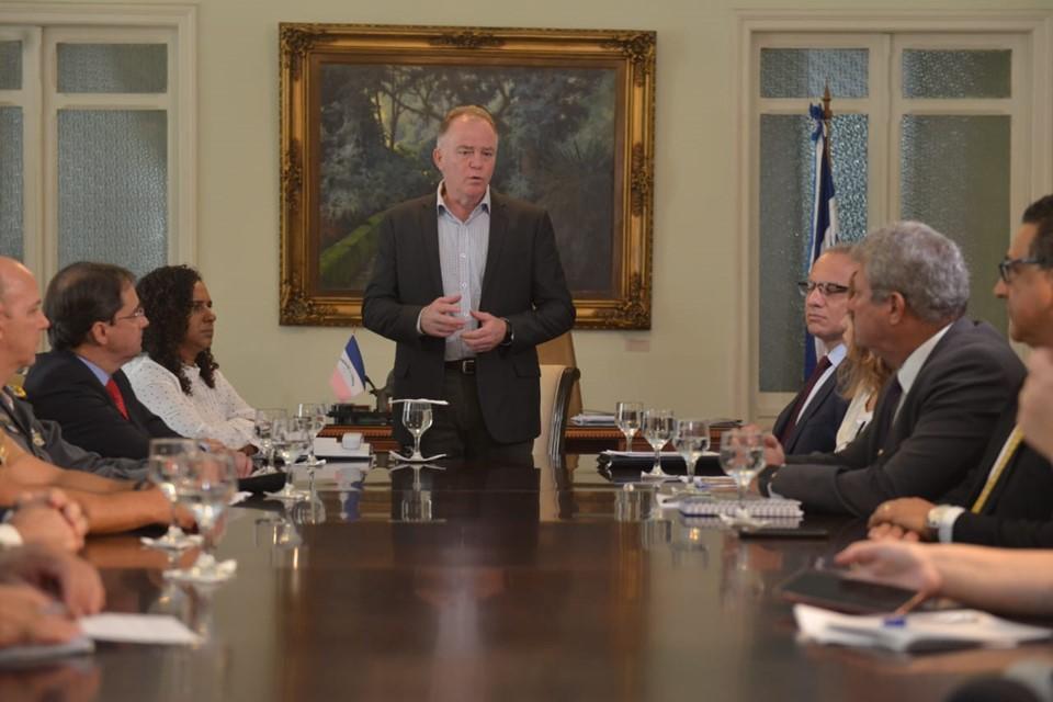 Governador Casagrande apresenta balanço sobre redução da criminalidade em 2019