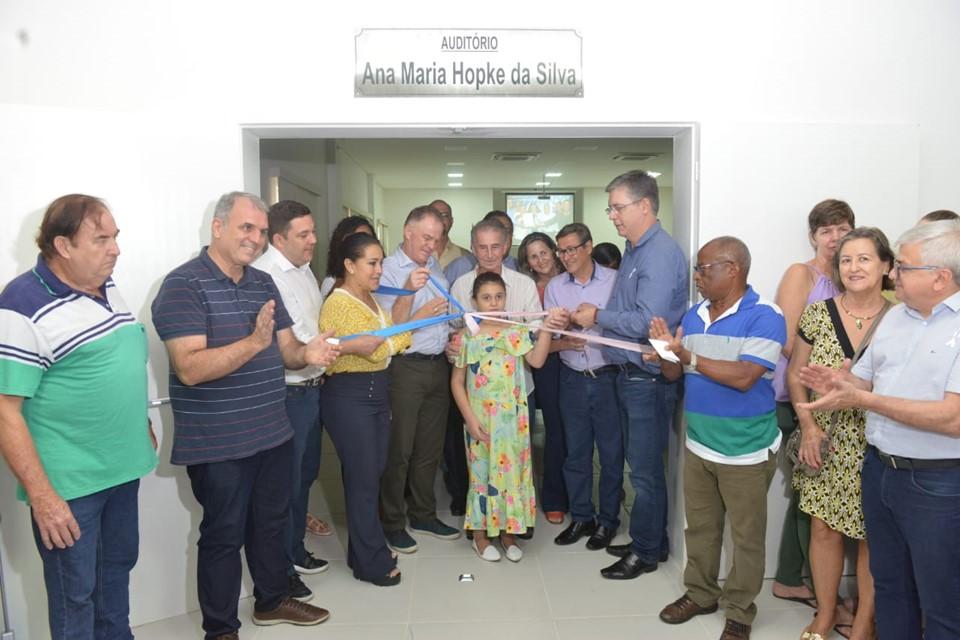 Governo inaugura CRAS em Santa Leopoldina