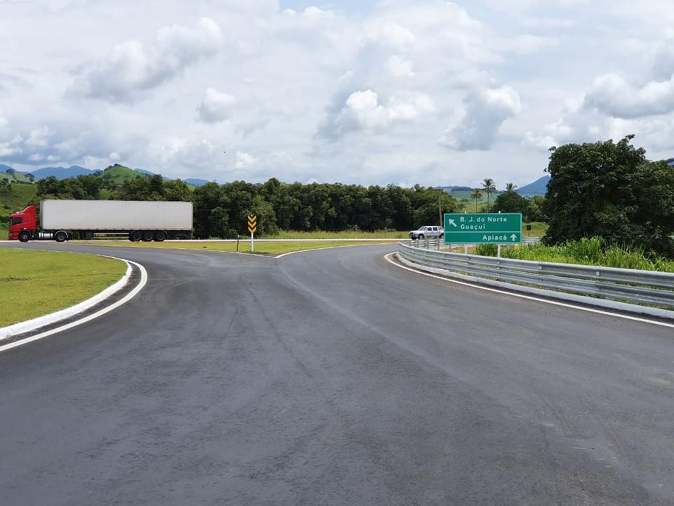 Governo do Estado inaugura Contorno de Apiacá e ponte sobre Córrego Santa Bárbara