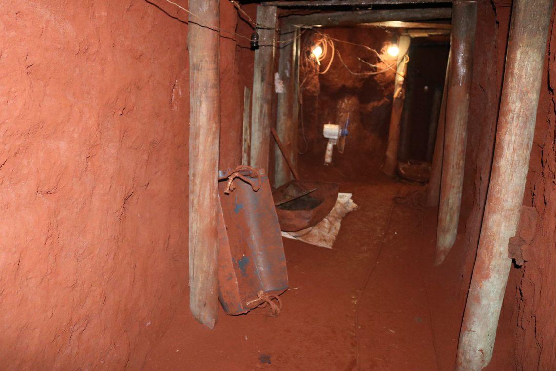 MS: quadrilha cava túnel de 70 m para tentar roubar banco, diz polícia