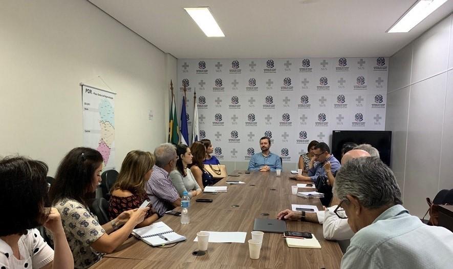 Sesa promove reuniões técnicas sobre novo coronavírus
