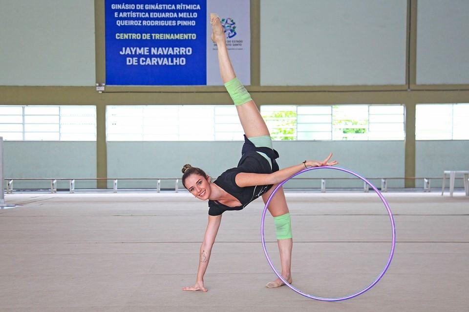 De olho na Olimpíada, Natália Gaudio recebe técnica avaliadora na Sesport