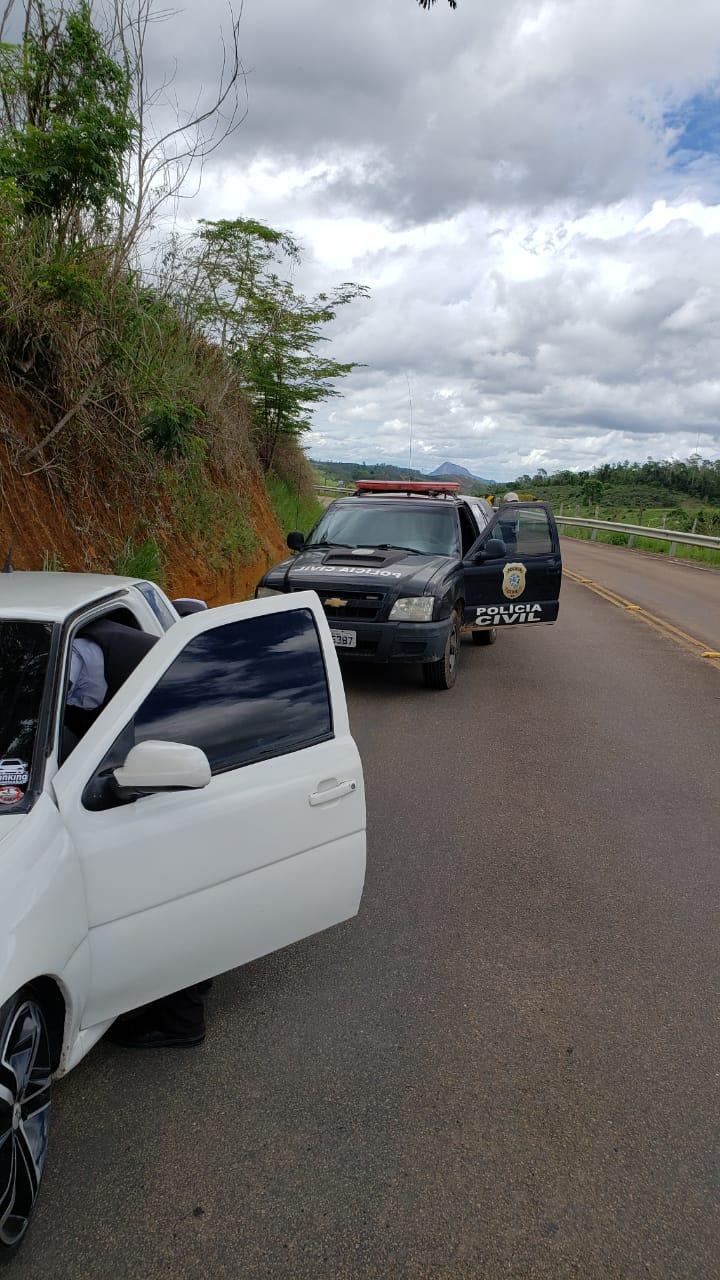 Jovem suspeito de receptação é preso por policiais civis de São Gabriel da Palha