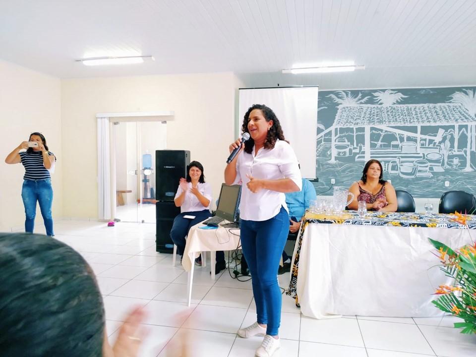 Jaqueline Moraes participa de inauguração do Cras em Conceição da Barra