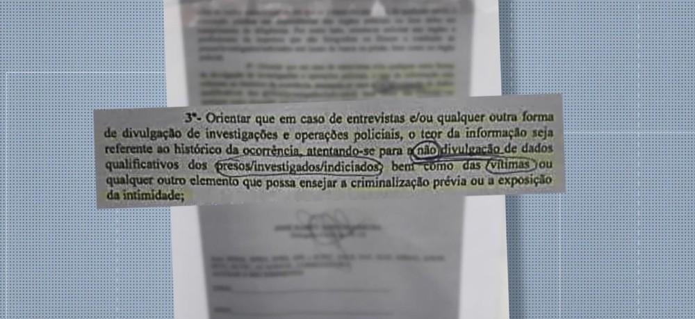 Polícia do ES não divulgará mais nomes e imagens de presos