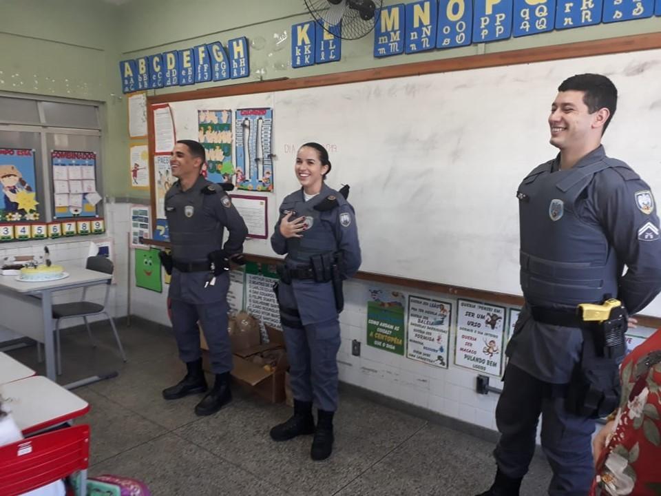 Patrulha Escolar leva conscientização e prevenção à violência para as escolas durante o mês de março
