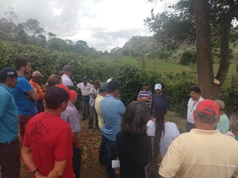 Encontro sobre a cultura da pimenta-do-reino movimenta agricultores em Ponto Belo